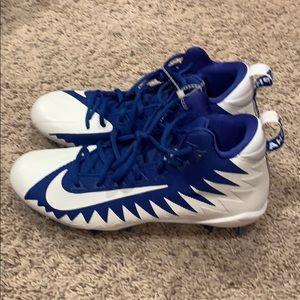 New Nike Alpha Menace Pro Football Cleats Size 10